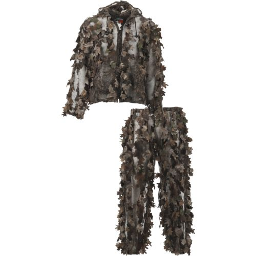 Display product reviews for Game Winner Men's Instacover 3-D Leafy Camo Hunting Suit