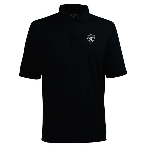 Antigua Men's Oakland Raiders Piqué Xtra-Lite Polo Shirt