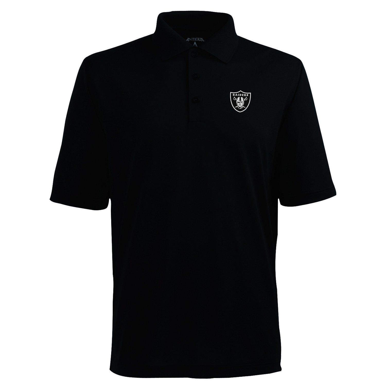 Antigua Men's Oakland Raiders Piqué Xtra-Lite Polo Shirt