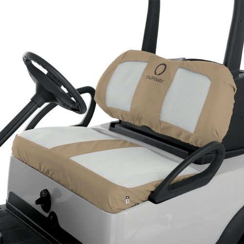 Classic Accessories Fairway Collection FadeSafe™ Air Mesh Paneled Golf Cart Seat Cover - view number 3