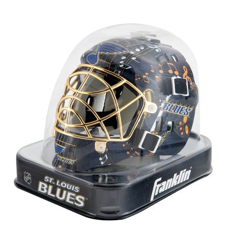 Franklin NHL Team Series St. Louis Blues Mini Goalie Mask - view number 2