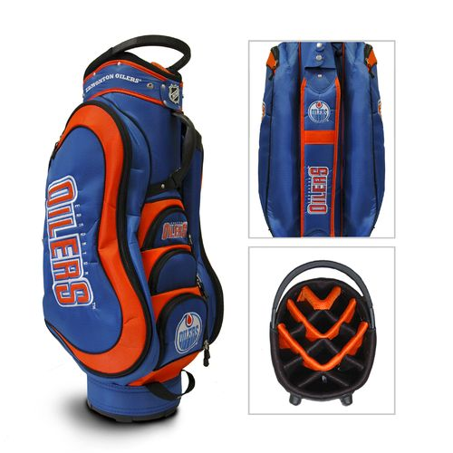 Team Golf Edmonton Oilers 14-Way Golf Cart Bag