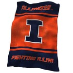 Logo™ University of Illinois Ultrasoft Blanket - view number 1