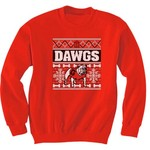 New World Graphics Men's University of Georgia Ugly Sweater T-shirt