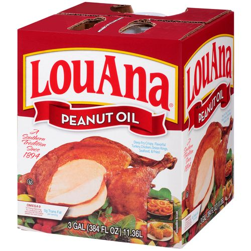 LouAna® 3-Gallon Peanut Oil