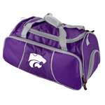 Logo Kansas State University Athletic Duffel Bag