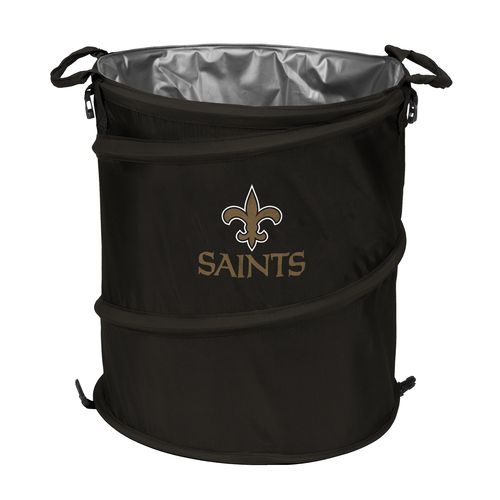 Logo™ New Orleans Saints Collapsible 3-in-1 Cooler/Hamper/Wastebasket