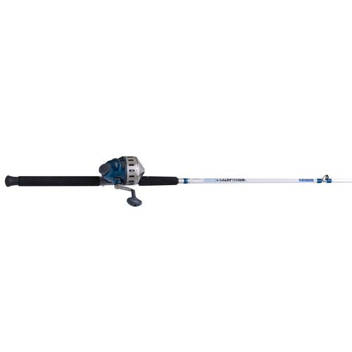 Display product reviews for Zebco 808® Saltfisher 7' MH Saltwater Spincast Rod and Reel Combo