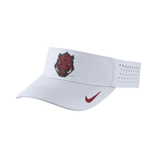 Nike™ Men's University of Arkansas Vapor Adjustable Visor