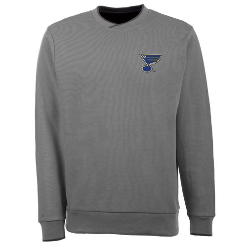 Antigua Men's St. Louis Blues Executive Crew Neck Sweater