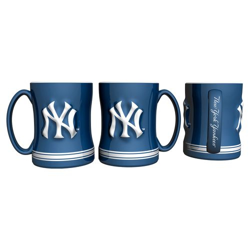 Boelter Brands New York Yankees 14 oz. Relief Coffee Mugs 2-Pack - view number 1