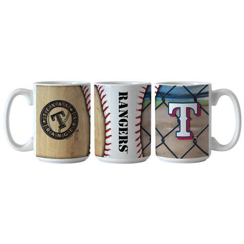 Boelter Brands Texas Rangers Ballpark Coffee Mugs 2-Pack
