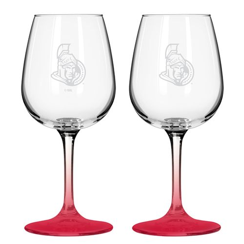 Boelter Brands Ottawa Senators 12 oz. Wine Glasses 2-Pack