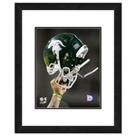 "Photo File Michigan State University Helmet 16"" x 20"" Matted and Framed Photo"