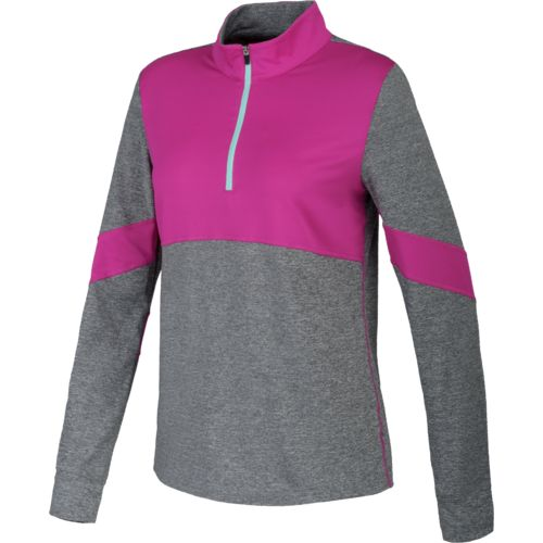 BCG™ Women's Block Party Long Sleeve 1/2 Zip