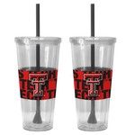 Boelter Brands Texas Tech University Bold Neo Sleeve 22 oz. Straw Tumblers 2-Pack - view number 1