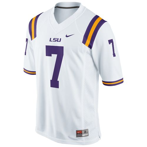 Nike Men's Louisiana State University Game Jersey - view number 1
