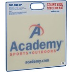 "Academy Sports + Outdoors™ 19"" x 19"" Basketball Courtside Traction Mat"