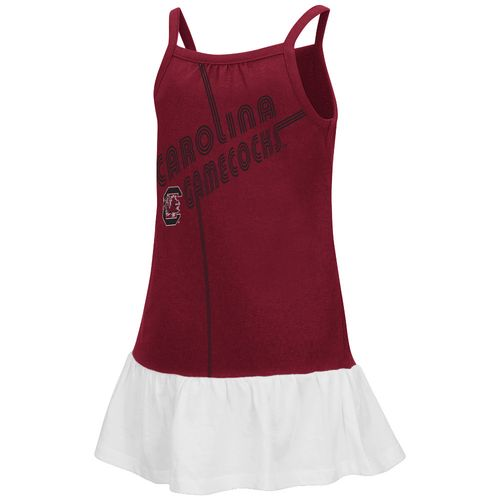 Colosseum Athletics Toddler Girls' University of South Carolina Disco Tank Dress