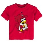 Majestic Toddlers' St. Louis Cardinals Baby Mascot T-shirt