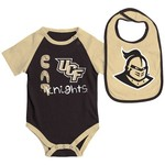 Colosseum Athletics Infants' University of Central Florida Rookie Onesie and Bib Set