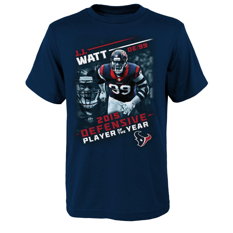 NFL Boys' Houston Texans J.J. Watt #99 Defensive