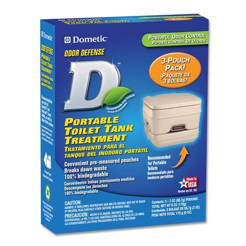 Dometic Portable Toilet Holding Tank Treatments 3-Pack