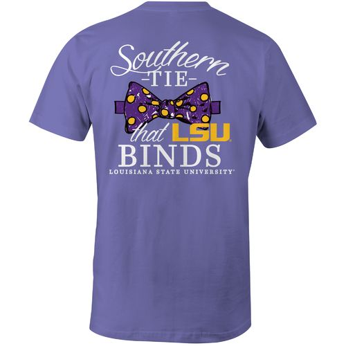 Image One Women's Louisiana State University Comfort Color T-shirt
