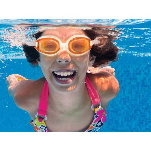 SwimWays Kids' Fish Face Dolphin Swim Goggles - view number 1