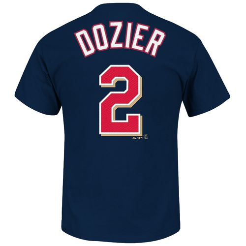 Majestic Men's Minnesota Twins Brian Dozier #2 T-shirt