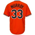 Majestic Men's Baltimore Orioles Eddie Murray #33 Cooperstown Cool Base 1965-66 Replica Jersey - view number 1