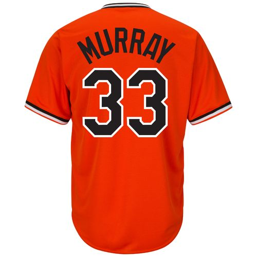 Majestic Men's Baltimore Orioles Eddie Murray #33 Cooperstown Cool Base 1965-66 Replica Jersey