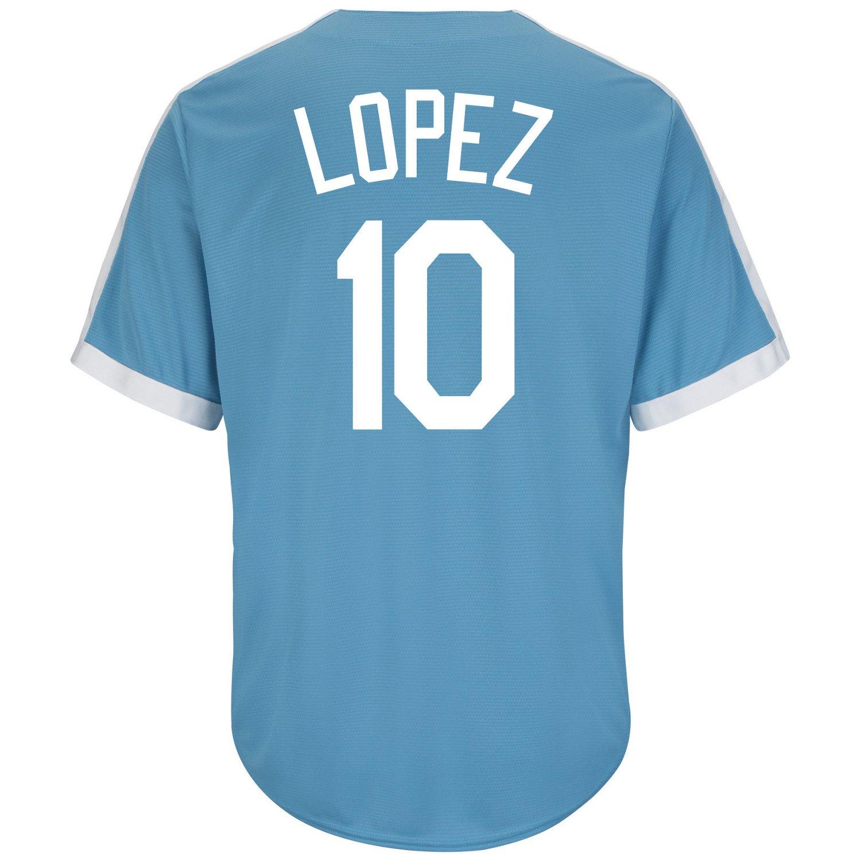 Majestic Men's Brooklyn Dodgers Al Lopez #10 Cooperstown Cool Base® 1941-57 Replica Jersey