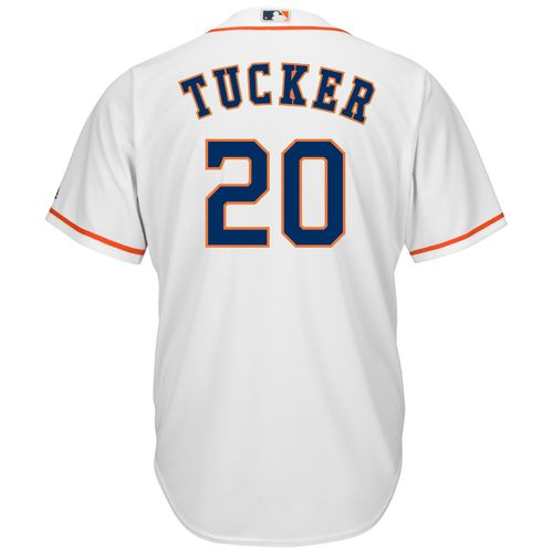 Majestic Men's Houston Astros Preston Tucker #20 Cool Base Replica Jersey