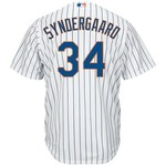 Majestic Men's New York Mets Noah Syndergaard #34 Cool Base Replica Jersey - view number 1