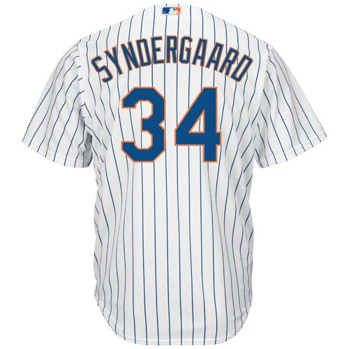 Majestic Men's New York Mets Noah Syndergaard #34 Cool Base Replica Jersey