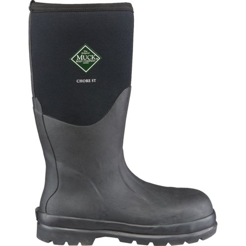 Muck Boot Women's Chore Classic Hi Steel Toe Work Boots