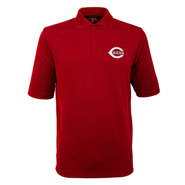 Antigua Men's Cincinnati Reds Exceed Polo Shirt