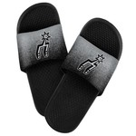 Forever Collectibles™ Men's San Antonio Spurs Textured Sport Slides