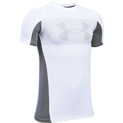 Under Armour® Boys' Up Grid Short Sleeve Sport Top