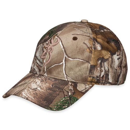 Browning Men's Camo Trail-Lite Cap