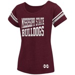 Colosseum Athletics™ Girls' Mississippi State University Fading Dot T-shirt - view number 1