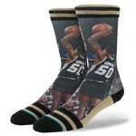 Stance Men's San Antonio Spurs David Robinson Legends Socks
