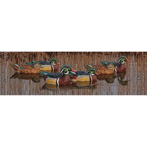 Avian-X Topflight Wood Duck Decoys 6-Pack - view number 1
