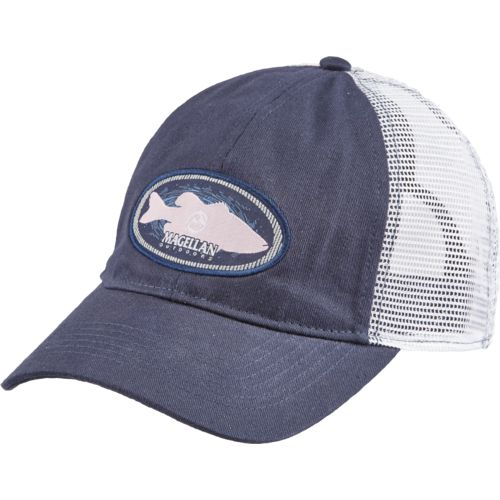 Magellan Outdoors Men's Bass Oval Trucker Hat