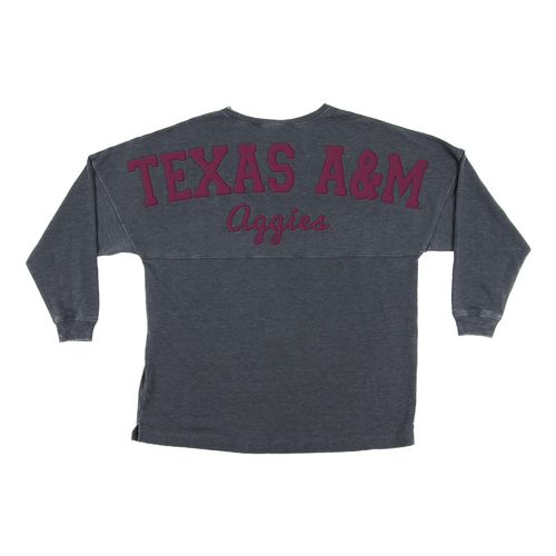 Chicka-d Women's Texas A&M University French Terry Varsity Jersey