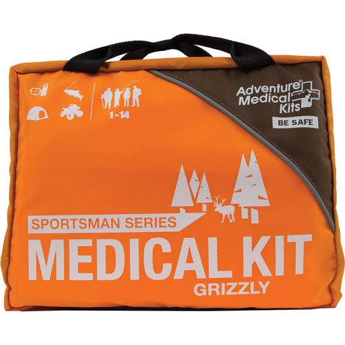 Display product reviews for Adventure Medical Kits Sportsman Grizzly Medical Kit