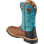 Justin Men's Peanut Wyoming Square Steel Toe Hybrid Waterproof Work Boots - view number 3
