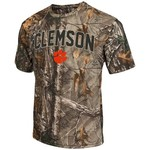 Colosseum Athletics™ Men's Clemson University Camo Brow Tine T-shirt