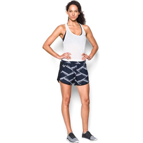 Under Armour Women's Fly By Printed Run Short - view number 5